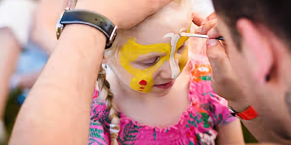 Face Painting at Shelbyville/Shelby County Parks Touch a Truck