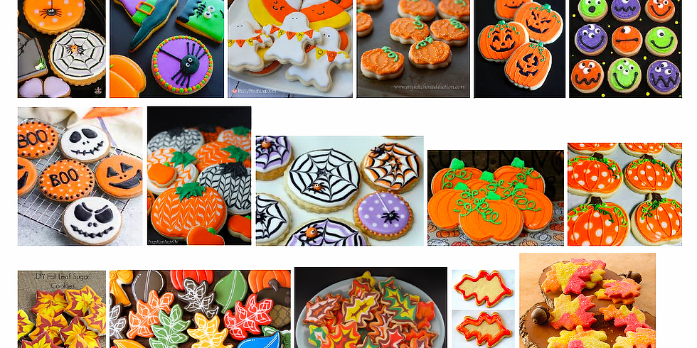 Halloween Cookie Decorating Class OR ToGogh Take-Home Kit (2)