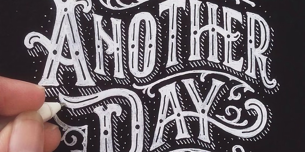 Hand Lettering Class by Darian Combs