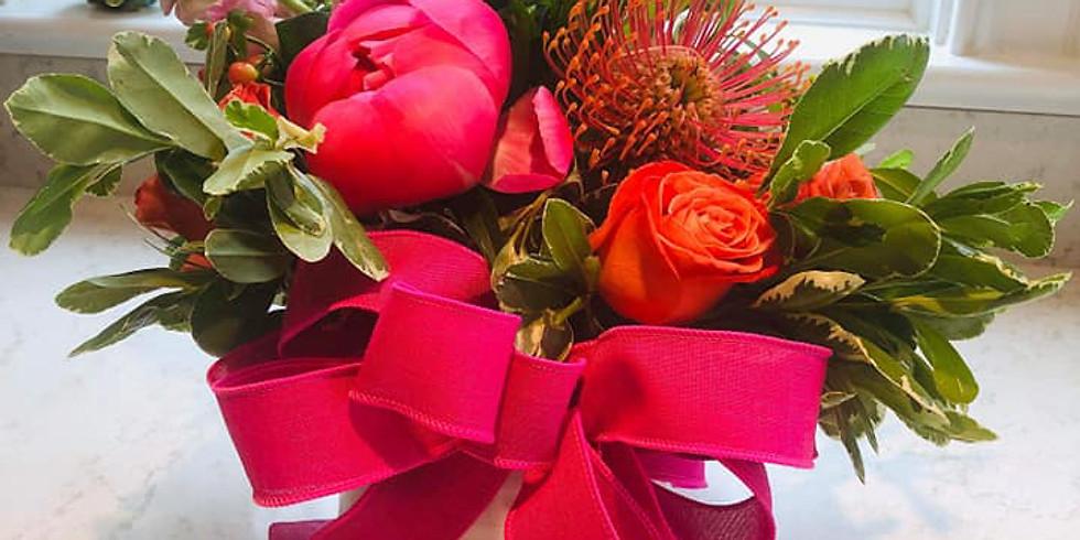 Bow Making and Floral Design Workshop