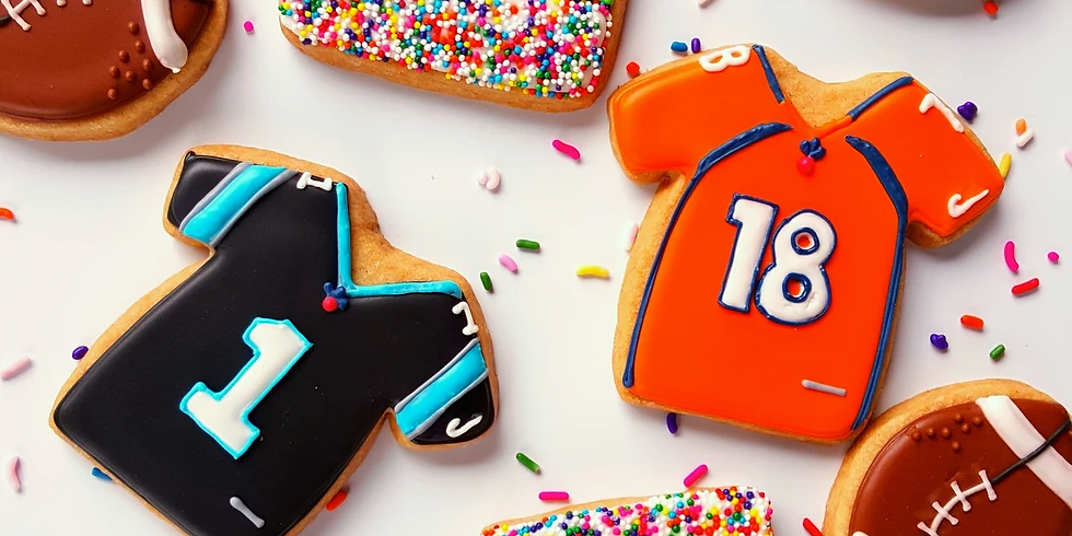 Super Bowl Cookie Decorating Class