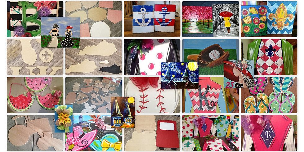 Mother's Day/Spring /Sports/Father's Day Door Hangers/Wreaths/Canvas Choice Class (1)