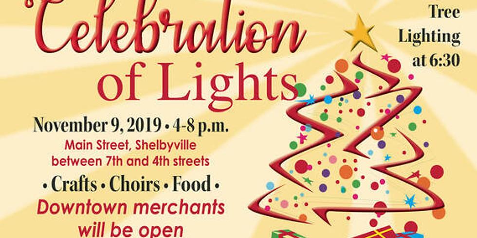 Downtown Shelbyville Celebration of Lights