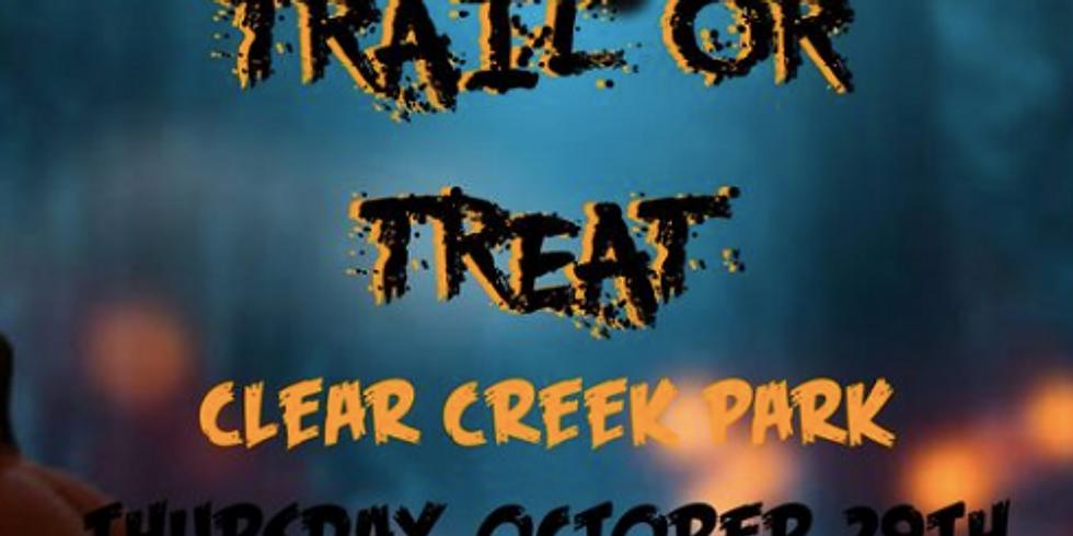 Trail or Treat Clear Creek Park-FREE