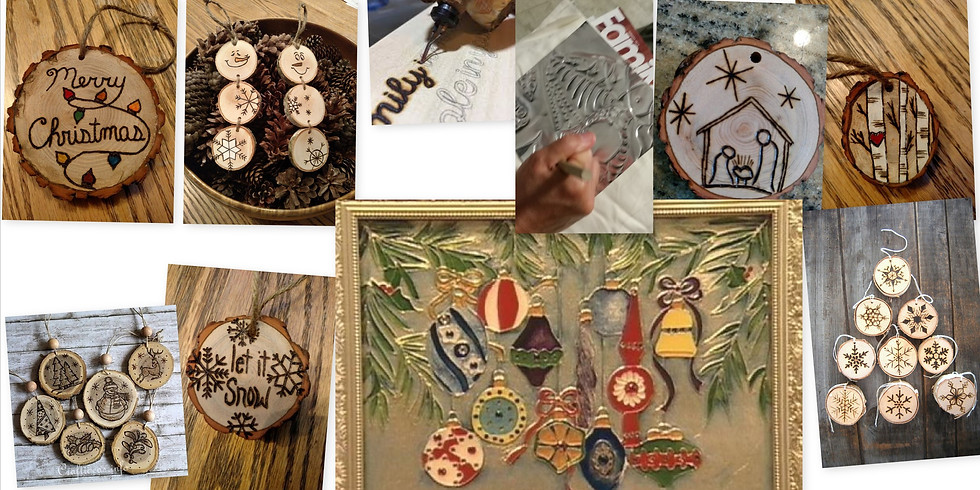 Wood Burning and Metal Embossing/Repousse'  Wright Elem. Workshop (2)