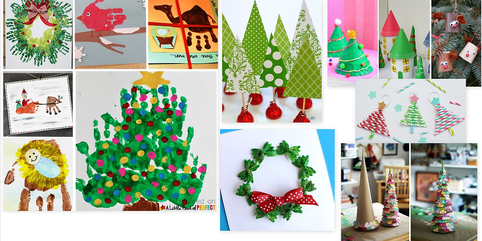 Kids Camp Christmas Gift Crafts and Painting Age 4-14 (4)