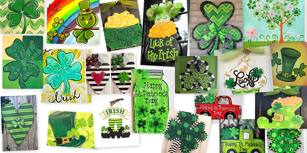 Open Studio St. Patrick's Day and Spring Discount 30% off Select Items