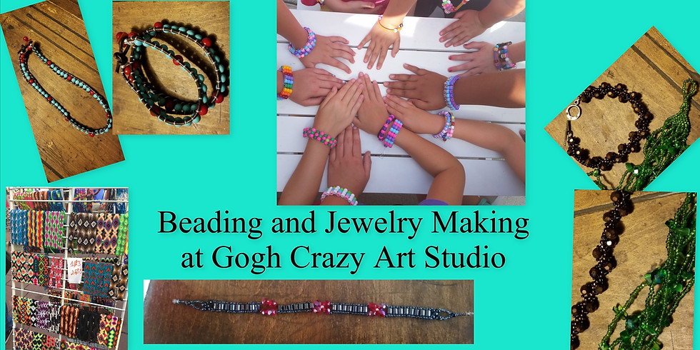 Beading and Jewelry Making at Wright Elementary Private Event