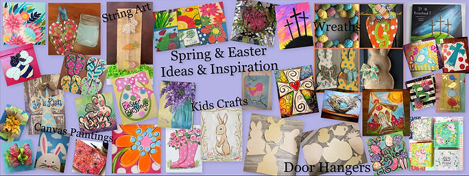 Spring Easter Inspiration Cover Gogh Cra