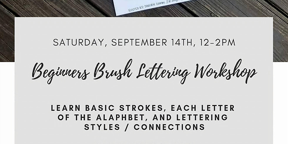 Beginner's Lettering Class by Darian Combs (1)
