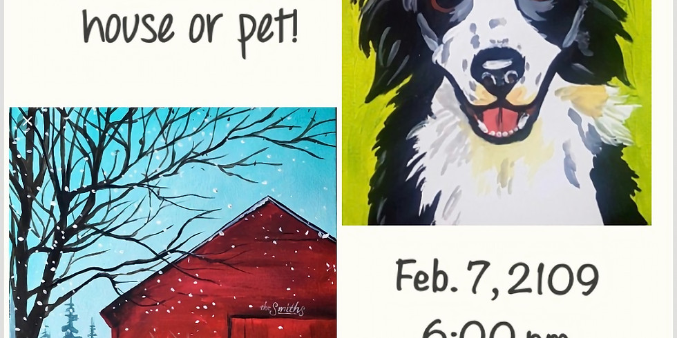 Paint Your Pet, Home, Barn, etc... (2)