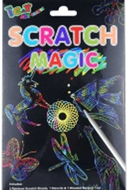 Magic Colour Scratch Set