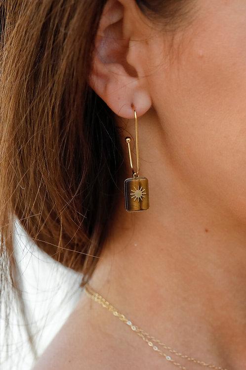 Boucles d'oreilles Karine 1