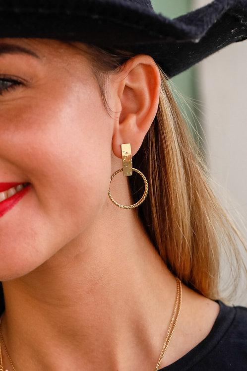 Boucles d'oreilles Morgane 1