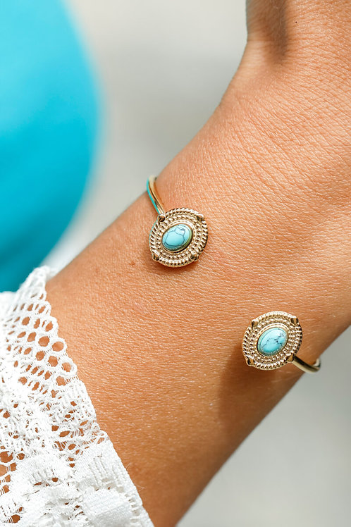 Bracelet jonc Rosalie 1