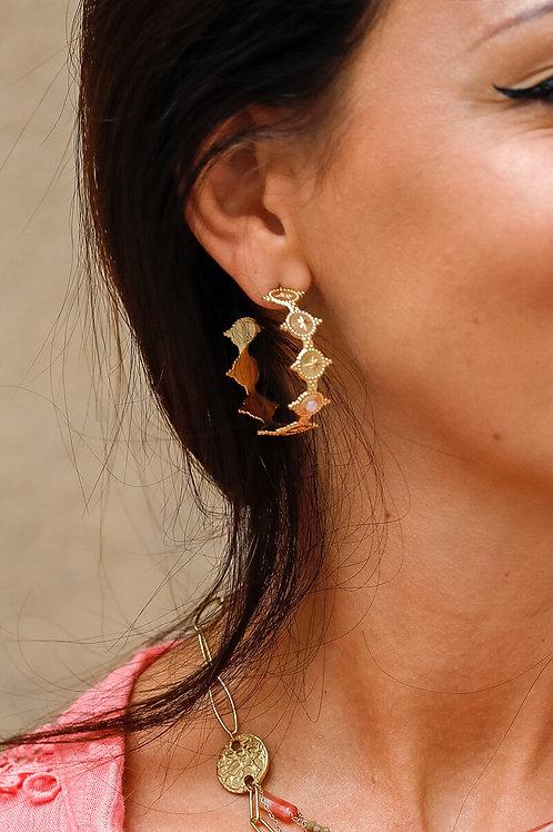 Boucles d'oreilles Zoé 1