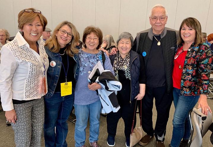 Asian American Democrats with AZ Democratic Party Chair, Felecia Rotellini