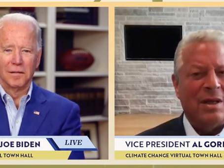 YET ANOTHER GAFFE: Joe Biden forgets what he's talking about, slurs words while talking to Al Gore