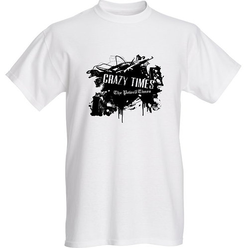'Crazy Times: The Powell Times' T-Shirt
