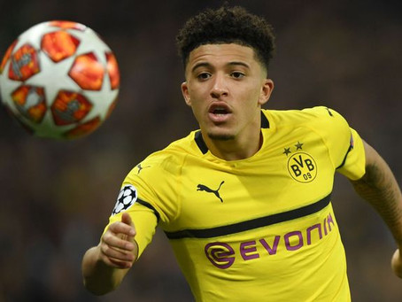 Let's lock this Jadon Sancho signing up and return to Glory, Glory Man United