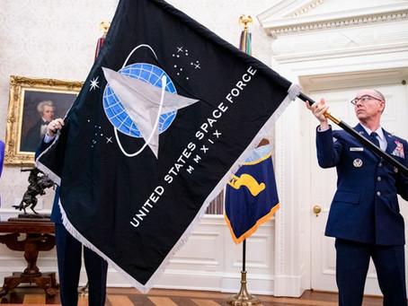 U.S. Space Force reveals official flag, confirms development of 'super duper' hypersonic weapons