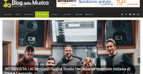 Bertinelli Sound on 'Blog Della Musica'