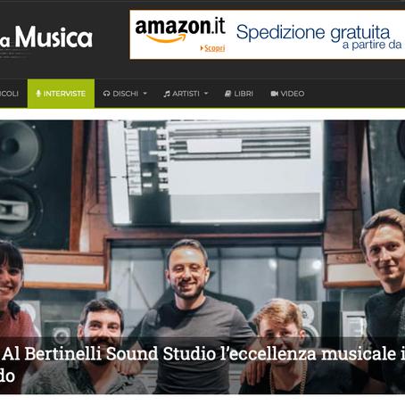 Bertinelli Sound on 'Blog Della Musica'