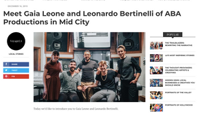 Meet Gaia Leone and Leonardo Bertinelli