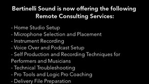Now Offering Remote Consulting Services