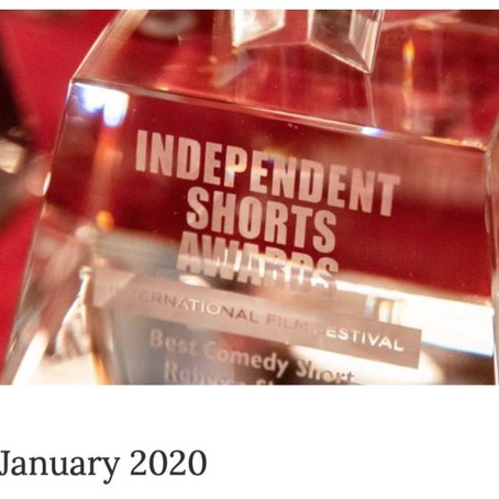 """Independent Movie """"3 Eggs"""" Selected as Finalist for the 2019 ISA Awards"""
