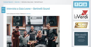 Interview with Gaia Leone - Bertinelli Sound