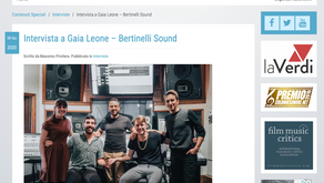 Interview with Gaia Leone - Bertinelli Sound