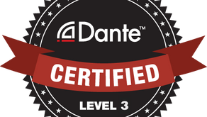 Bertinelli Sound certified for 'Audinate Dante'