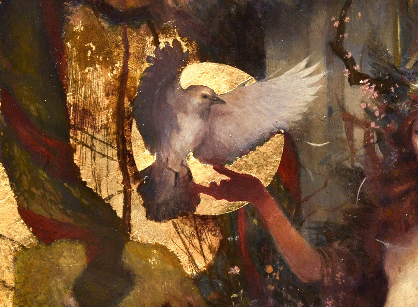 """""""La Morrigan""""- detail - (click to enlarge)"""