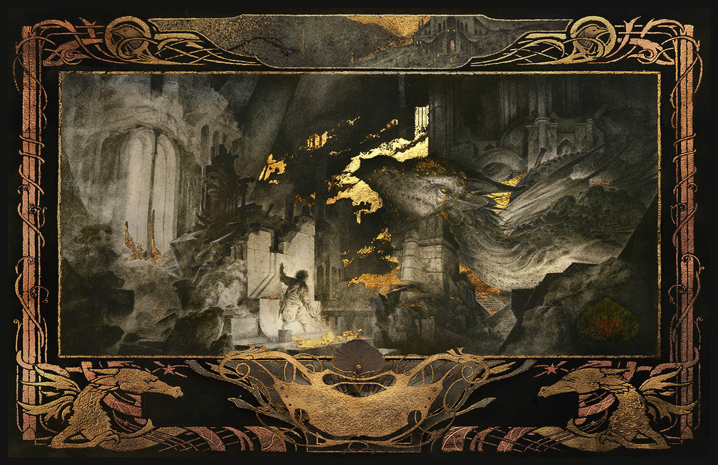 """Beowulf - """"The Dragon's Cave"""""""