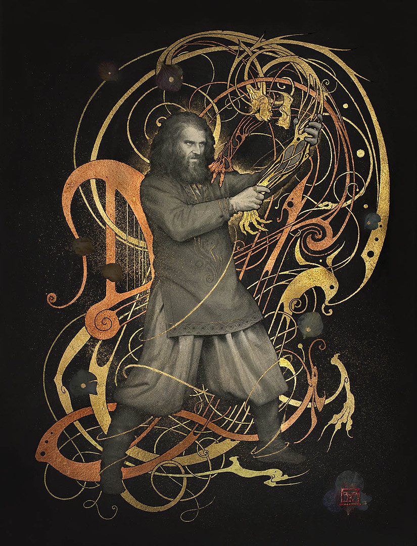 """Beowulf - """"The Fight with Grendel"""""""