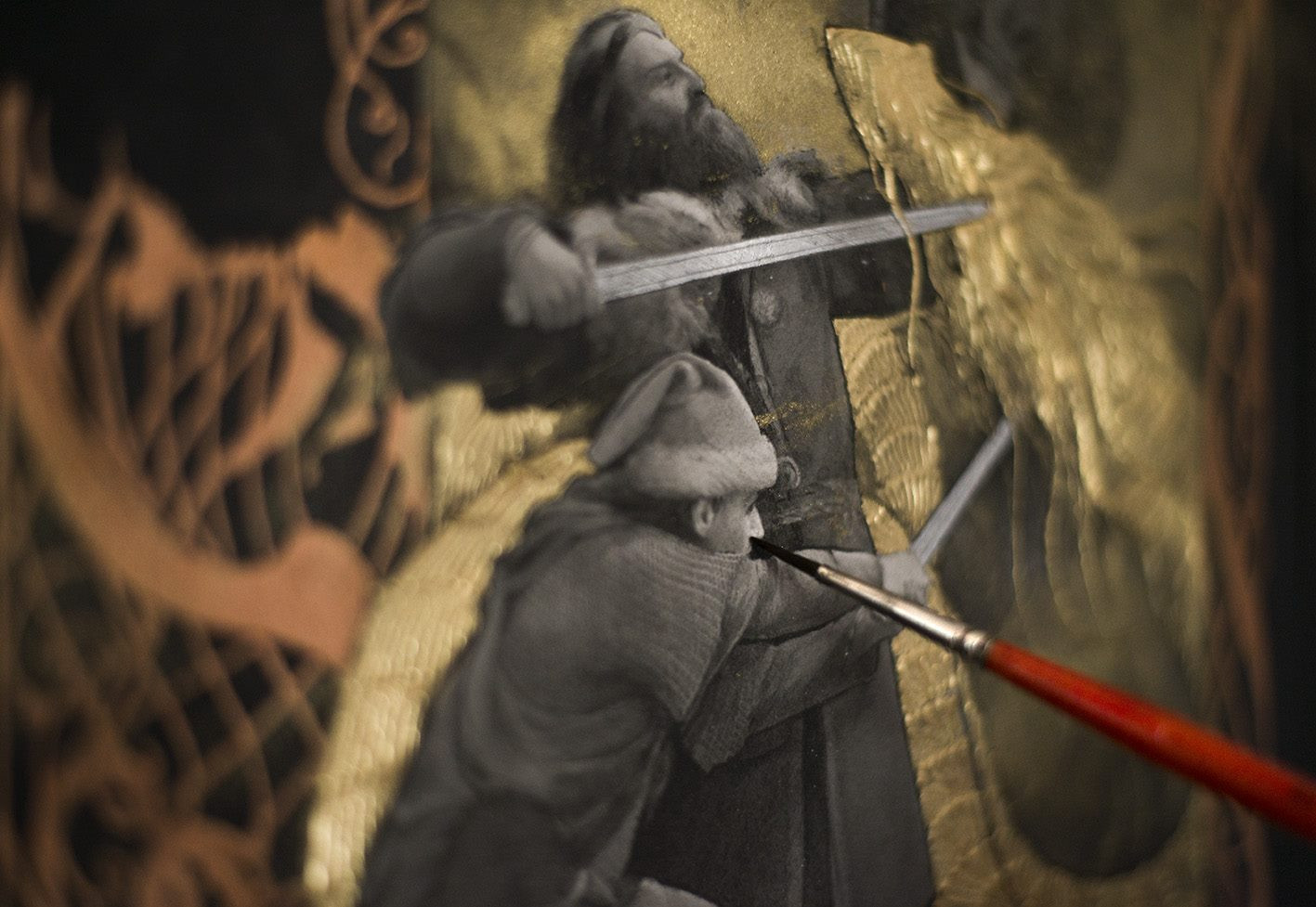 """Beowulf - """"The Fight with the Dragon"""""""