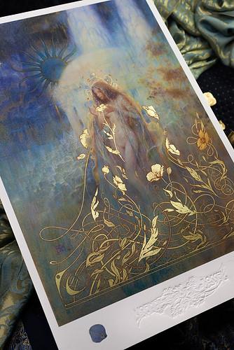 ☽ Les Jardins de Nuit ☾ Édition Collector Embellie à la feuille d'or 23K