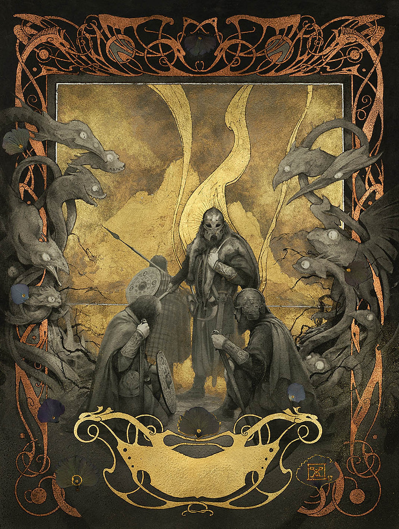 """Beowulf - """"Grendel's Mother Mare"""""""
