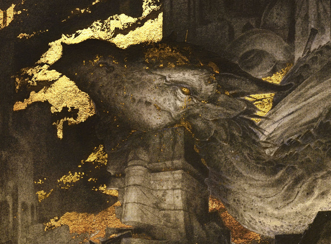"""""""Smaug"""" - detail - (click to enlarge)"""