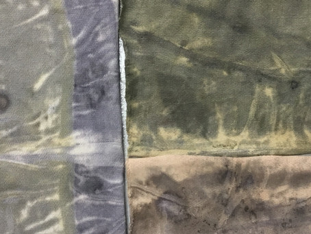 What Makes the Colors in Natural Dyes?  Part II-Tannins