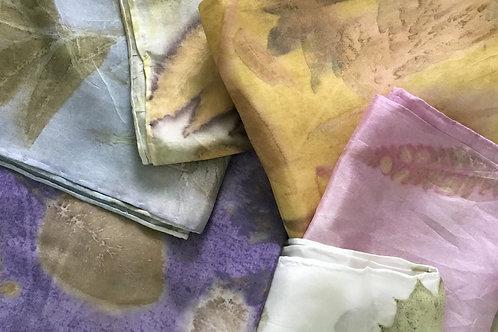 """Garden Silk Habotai Scarves 8x72"""""""
