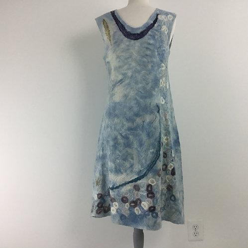 Indigo Abstract Dress