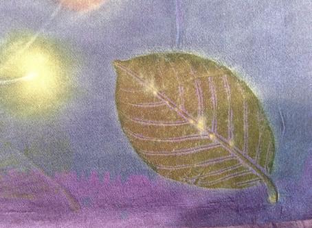 Eco Print & Stitch Shibori Workshops in October