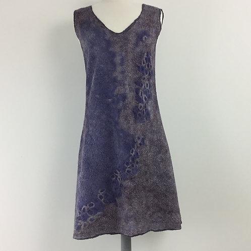 Dark Grey Abstract Dress