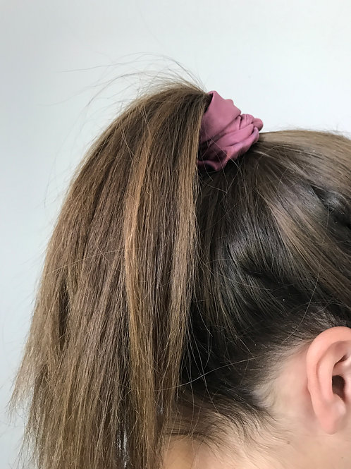 Silk Hair Scrunchies