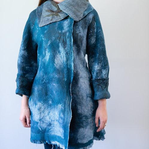 Grey Art Jacket