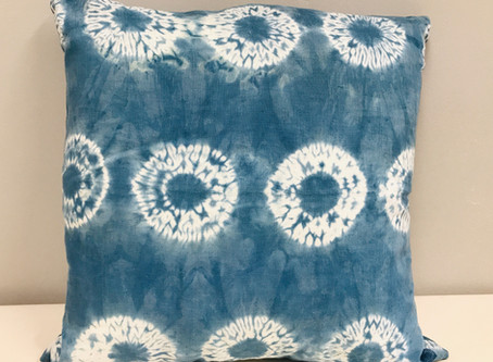 Open Studio- 2nd Saturday Crozet Jul 11, 2020:12-5pm Indigo Shibori Demonstration @ 1 & 3pm.