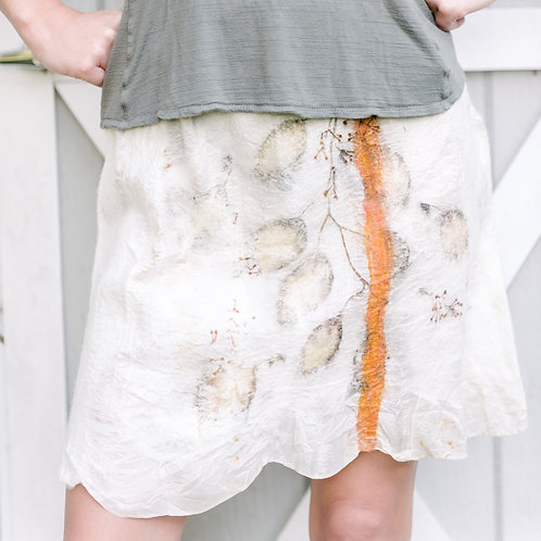 Nuno Felted Skirt ND12