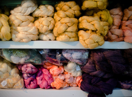 Natural Dye Workshop: Sept 19 8:30-4:30 Reds & Yellows